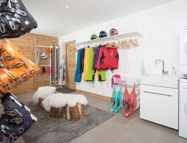 ski room chalet rental