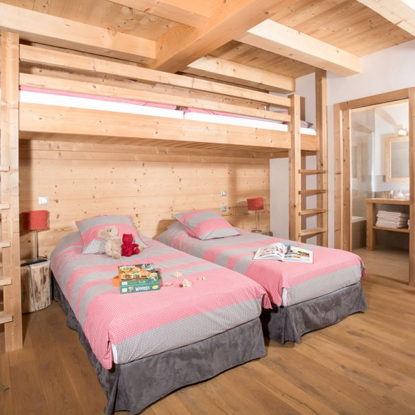 bedroom grand Bornand chalet