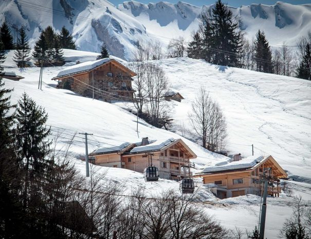 chalet rental winter grand bornand
