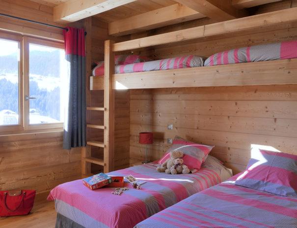chambre montagne chalet