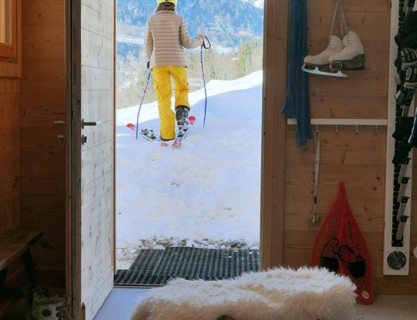 Location Chalet ski au pied